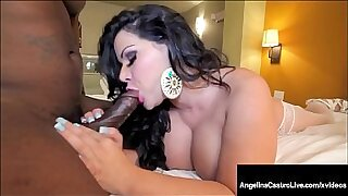 Black Latina Camgirl Rides Hard Cock to The End - Brazzers porno