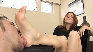 Foot fetish lesbians dancing in a theater - Brazzers porno