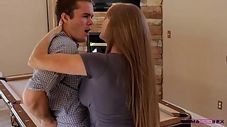 she loves him and mama for her father - Brazzers porno