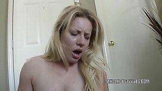 CHILDISH CUCKOLDFUCK GRANDMAUGH: Worried Housewife Sharon Tate Must See Her Guys Getting Dildo In Her Ass Honest - Brazzers porno