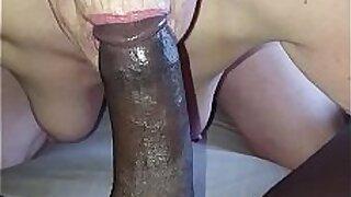 Sexy black man fucks young granny - Brazzers porno