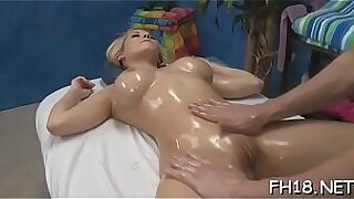 GAS POUNDED TONIGHT Kush is back for another massage. She worked that tight bitty clitoris - Brazzers porno