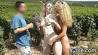 Milf and young Outdoor Orgy with StepMom - Brazzers porno
