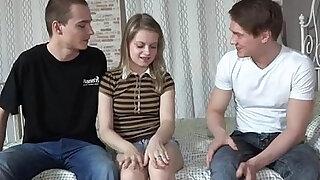 Boy friend sold his girlfriend - Brazzers porno