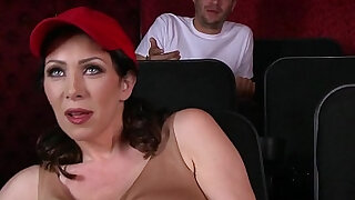 Total: 29 -  Dude fucks stepmom in the porn theater