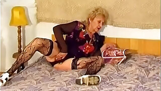 Hairy Granny Gets Pounded Hard By A Young Dick - Brazzers porno