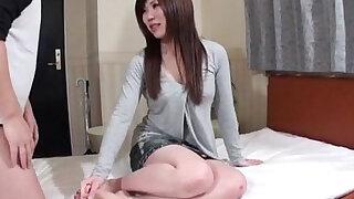 Nana Oshikiri feels powerful dick sliding her wet cunt - Brazzers porno
