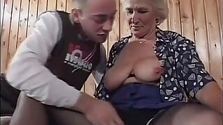 Grandma eager for younger dicks - Brazzers porno