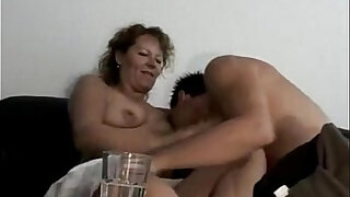 Marine german oma makes love with her young toyboy - Brazzers porno