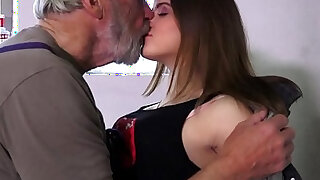 Such an innocent petite pussy for an old horny grandpa - Brazzers porno