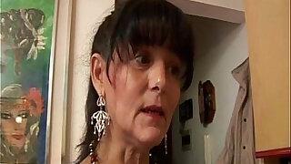 Hairy granny loves dick - Brazzers porno
