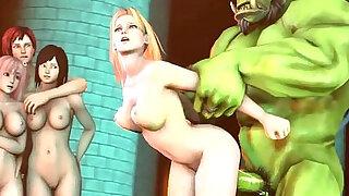 Dead or Alive Tina Armstrong gif - Brazzers porno