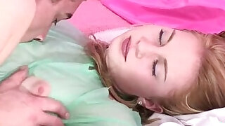 Total: 4596 -  Jessica Neight Takes Care Of Her Boyfriend Giving Oral Pleasure After He Fin