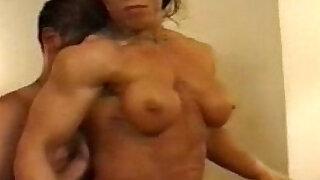 muscle worship - Brazzers porno