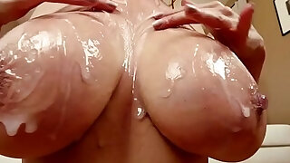 Asian milf cocksucking and gets cum in mouth - Brazzers porno