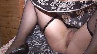 Mature JR strips ... slowly!! - Brazzers porno