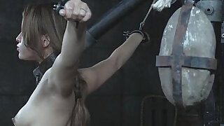 Slavegirl Milking in Restraints - Brazzers porno