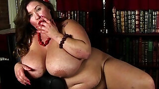 Beautiful tits BBW brunette with juicy pussy for you - Brazzers porno