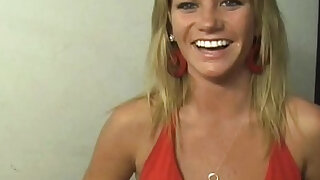 Can someone PLEASE ID this girl? Hot blonde sucks and fucks in the alley - Brazzers porno