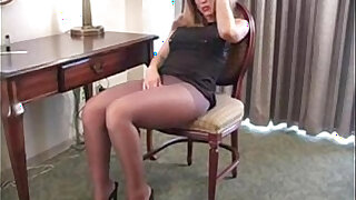 Courtney in Black Pantyhose - Brazzers porno