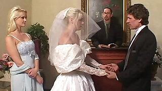 The Bride Double Blowjob - Brazzers porno