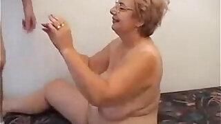 Glasses Wearing Grandma Wants To Fuck - Brazzers porno