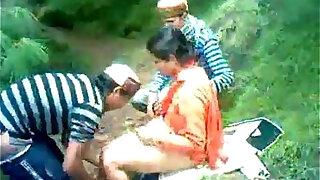 himachali shy aunty fucked outdoor secretely - Brazzers porno