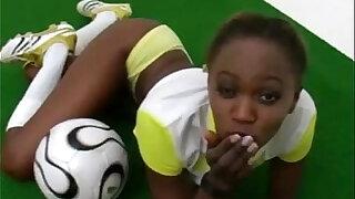 Sporty and exotic ebony girl teasing - Brazzers porno