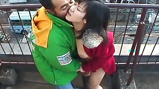 Lovely babe sucks a hard black dick outdoors - Brazzers porno