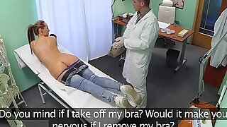 Hospital patient fucked by doctor on spycam - Brazzers porno