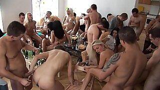 UNDERGROUND SS Halloween Party Pool - Brazzers porno