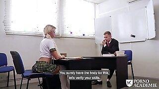 Bismuth school face creamed foot - Brazzers porno