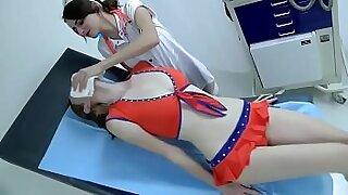 Asian nurse bests masseur for money - Brazzers porno