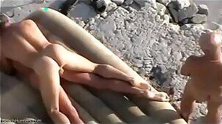 Bawdy cleft beach sex - Brazzers porno