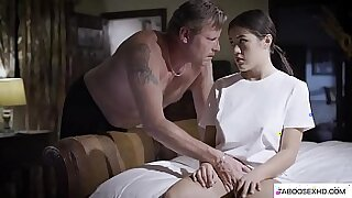 Sexy Tiny Stepdaughter Forced By Black BBC - Brazzers porno